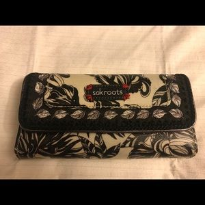 Sakroots Wallet - Boho/ Peace Design